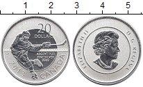 Изображение Монеты Канада 20 долларов 2013 Серебро Proof Хоккей