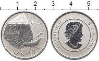Изображение Монеты Канада 20 долларов 2013 Серебро Proof Айсберг и кит
