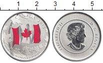 Изображение Монеты Канада 25 долларов 2015 Серебро Proof 50 лет Канадскому фл