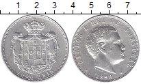 Изображение Монеты Португалия 1000 рейс 1899 Серебро XF
