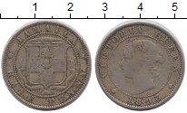Изображение Монеты Ямайка 1/2 пенни 1893 Медно-никель VF