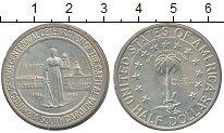 Изображение Монеты США 1/2 доллара 1935 Серебро XF+ 150 лет вхождения Ко