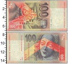 Изображение Банкноты Словакия 100 крон 2004  UNC-