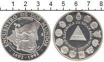 Изображение Монеты Никарагуа 1 кордоба 1991 Серебро Proof-