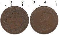 Изображение Монеты Индия 1/4 анны 1930 Бронза XF