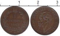 Изображение Монеты Италия 1 чентезимо 1867 Бронза XF