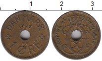 Изображение Монеты Дания 1 эре 1936 Бронза XF