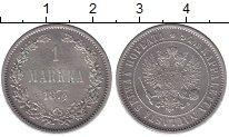 Изображение Монеты 1855 – 1881 Александр II 1 марка 1874 Серебро XF S