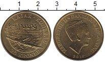 Изображение Монеты Дания 20 крон 2010 Латунь UNC