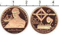 Изображение Монеты Италия 20 евро 2009 Золото Proof 100 лет пресуждения
