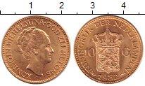 Изображение Монеты Нидерланды 10 гульденов 1932 Золото UNC