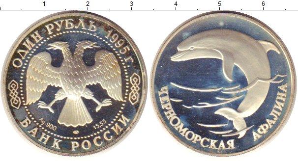 Картинка Монеты Россия 1 рубль Серебро 1995
