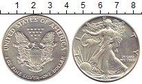 Изображение Монеты США 1 доллар 1987 Серебро UNC-
