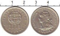 Изображение Монеты Ангола 20 сентаво 1927 Медно-никель XF