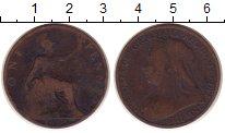 Изображение Монеты Великобритания 1 пенни 1900 Медь VF