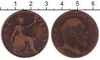 Изображение Монеты Великобритания 1 пенни 1905 Медь VF