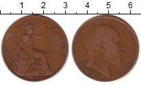 Изображение Монеты Великобритания 1 пенни 1906 Медь VF Эдуард VII
