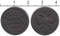 Изображение Монеты 1730 – 1740 Анна Иоановна 1 полушка 1735 Медь