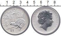 Изображение Монеты Новая Зеландия 1 доллар 2013 Серебро Proof-