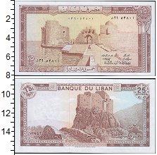 Изображение Банкноты Ливан 25 ливр 1983  UNC
