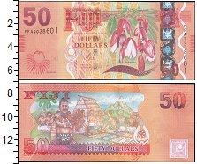 Изображение Боны Фиджи 50 долларов 0  UNC-