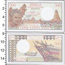 Изображение Боны Джибути 500 франков 0  UNC-