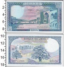 Изображение Банкноты Ливан 100 ливр 1988  UNC-