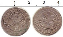 Изображение Монеты Литва 1/2 гроша 0 Серебро XF-