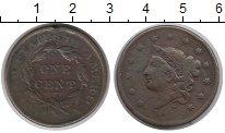 Изображение Монеты США 1 цент 1835 Медь VF