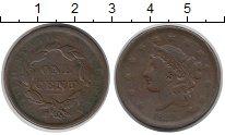 Изображение Монеты США 1 цент 1839 Медь VF