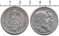 Изображение Монеты Баден 2 марки 1906 Серебро UNC-