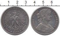 Изображение Монеты Франкфурт 1 талер 1860 Серебро XF-