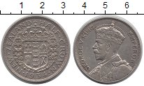 Изображение Монеты Новая Зеландия 1/2 кроны 1934 Серебро XF