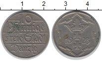 Изображение Монеты Данциг 10 пфеннигов 1923 Медно-никель XF Герб