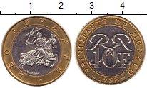 Изображение Монеты Монако 10 франков 1998 Биметалл UNC-