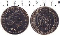 Изображение Монеты Великобритания 5 фунтов 2009 Медно-никель UNC-