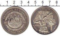 Изображение Монеты Либерия 5 долларов 2000 Медно-никель UNC Олимпиада в Сиднее