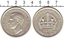 Изображение Монеты Австралия 1 крона 1937 Серебро XF+ Георг VI