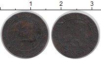 Изображение Монеты Испания 1 сантим 1870 Медь F Временное правительс