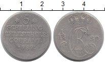 Изображение Монеты Германия Шлезвиг-Гольштейн 5 шиллингов 1787 Серебро VF