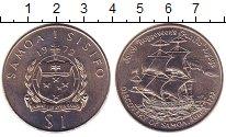 Изображение Монеты Самоа 1 тала 1972 Медно-никель UNC-