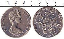Изображение Монеты Остров Мэн 1 крона 1980 Медно-никель UNC