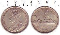 Изображение Монеты Канада 1 доллар 1936 Серебро XF