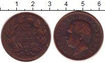 Изображение Монеты Португалия 20 рейс 1882 Бронза XF-