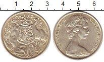 Изображение Монеты Австралия 50 центов 1966 Серебро XF