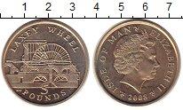 Изображение Монеты Остров Мэн 5 фунтов 2008 Латунь UNC