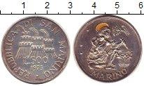 Изображение Монеты Сан-Марино 500 лир 1975 Серебро XF Скульптор