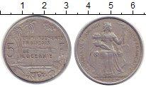 Изображение Монеты Океания 5 франков 1952 Алюминий XF