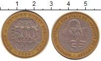 Изображение Монеты Центральная Африка 500 франков 2004 Биметалл XF-