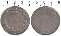 Изображение Монеты Перу 8 реалов 1846 Серебро VF